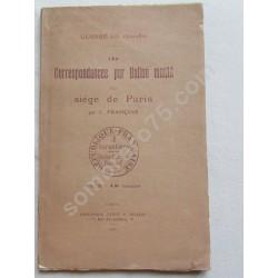 Les Correspondances par...