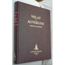 Velay et Auvergne. Contes...