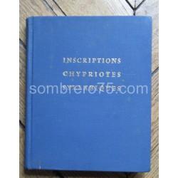 Les Inscriptions Chypriotes...