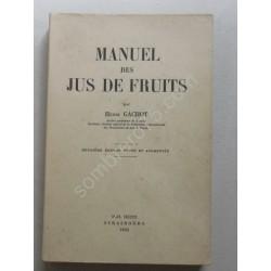 Manuel des Jus de Fruits....