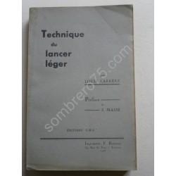 Technique du Lancer Léger....
