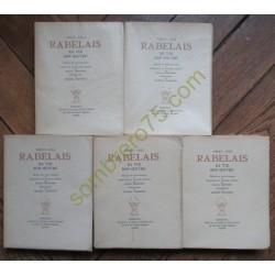 Rabelais Sa Vie Son Oeuvre....