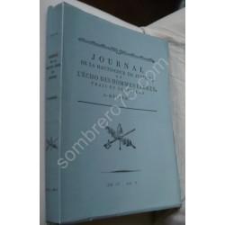 Journal de la Haute Cour de...