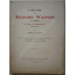 L'Oeuvre de Richard Wagner...