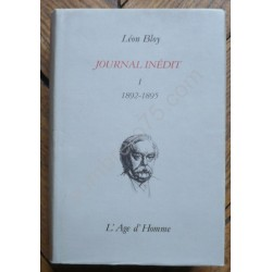 Journal Inédit. 1892-1895....