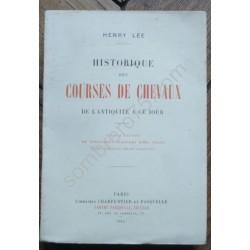 Historique des Courses de...