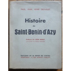 Histoire de Saint Benin...