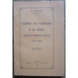 Châtillon-sur-Chalaronne et...