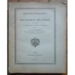 Dictionnaire Topographique...