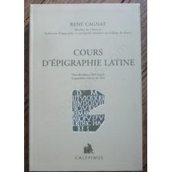 Cours d'Epigraphie Latine...