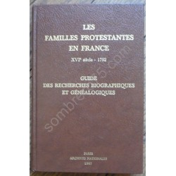 Les Familles Protestantes...