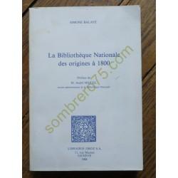 La Bibliothèque Nationale...