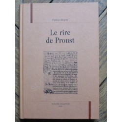 Le Rire de Proust - Patrick...