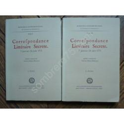 Correspondance Littéraire...
