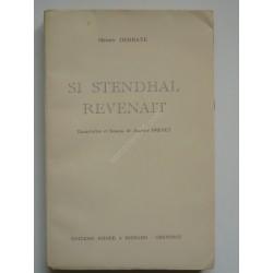 Si Stendhal revenait -...