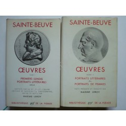 Oeuvres. 2 Tomes. Sainte...