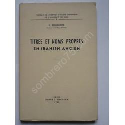 Titres et Noms Propres en...