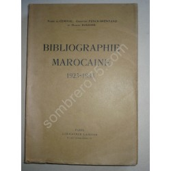 Bibliographie Marocaine...