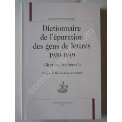 Dictionnaire de l'Epuration...