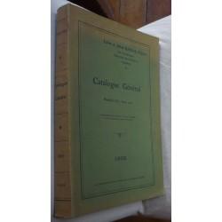 Catalogue Général de la...