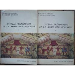L'Italie Préromaine et la...