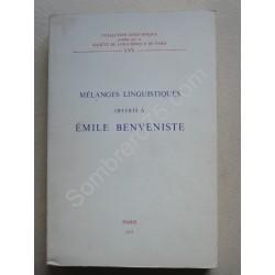 Mélanges Linguistiques...