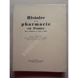 Histoire de la Pharmacie en...