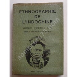 Ethnographie Indochinoise....