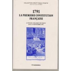 1791 - La 1ère Constitution...