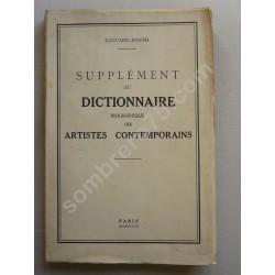 Supplément au Dictionnaire...