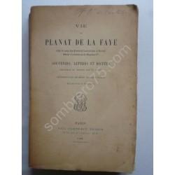 Vie de Planat de la Faye -...