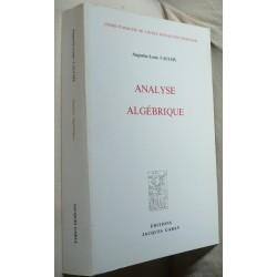 Analyse Algébrique