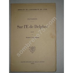 Sur l'E de Delphes -...