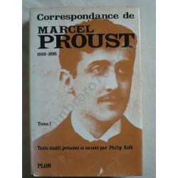 Correspondance de Marcel...