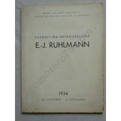 E. J. RUHLMANN - Exposition...
