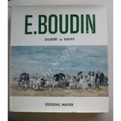 E. BOUDIN. Gilbert de Knyff