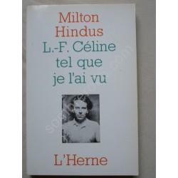 L. F. Céline tel que je...